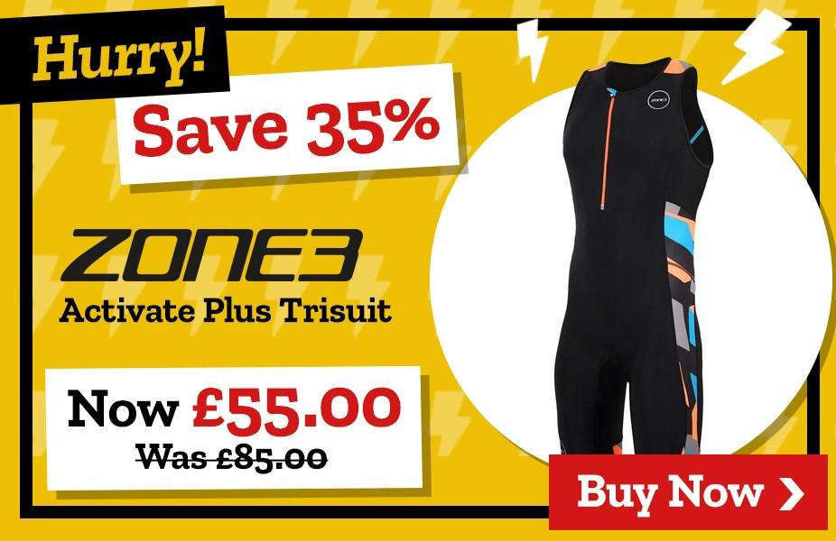 Save 35% on Zone3 Activate Plus Trisuit