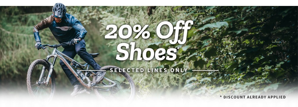 20% Off Shoes