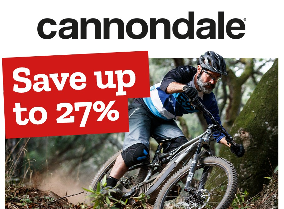 Cannondale - Save up to 27%