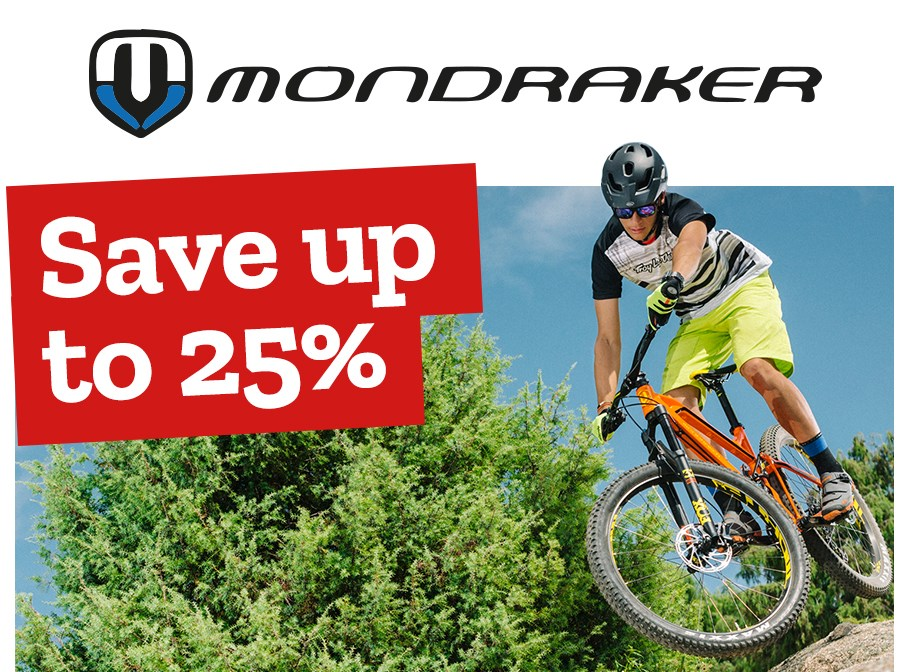 Mondraker - Save up to 25%