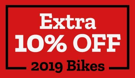 Extra 10% OFF 2019 Bikes