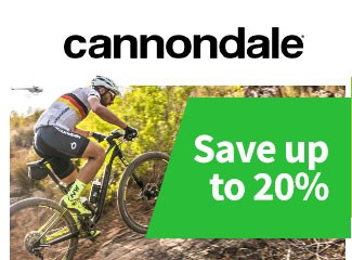 Cannondale - Save up to 20%