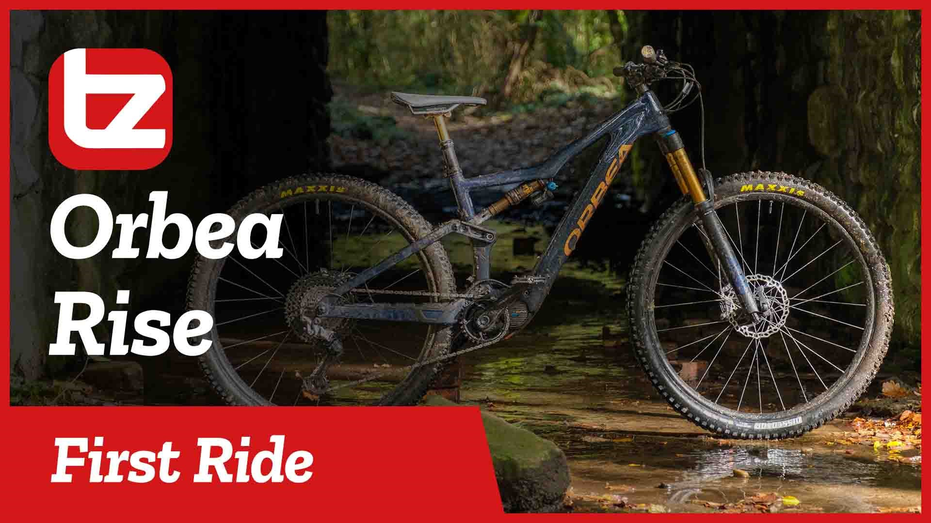 RIDING THE NEW ORBEA RISE | Our New Favourite Ebike? | First Ride | Tredz Bikes