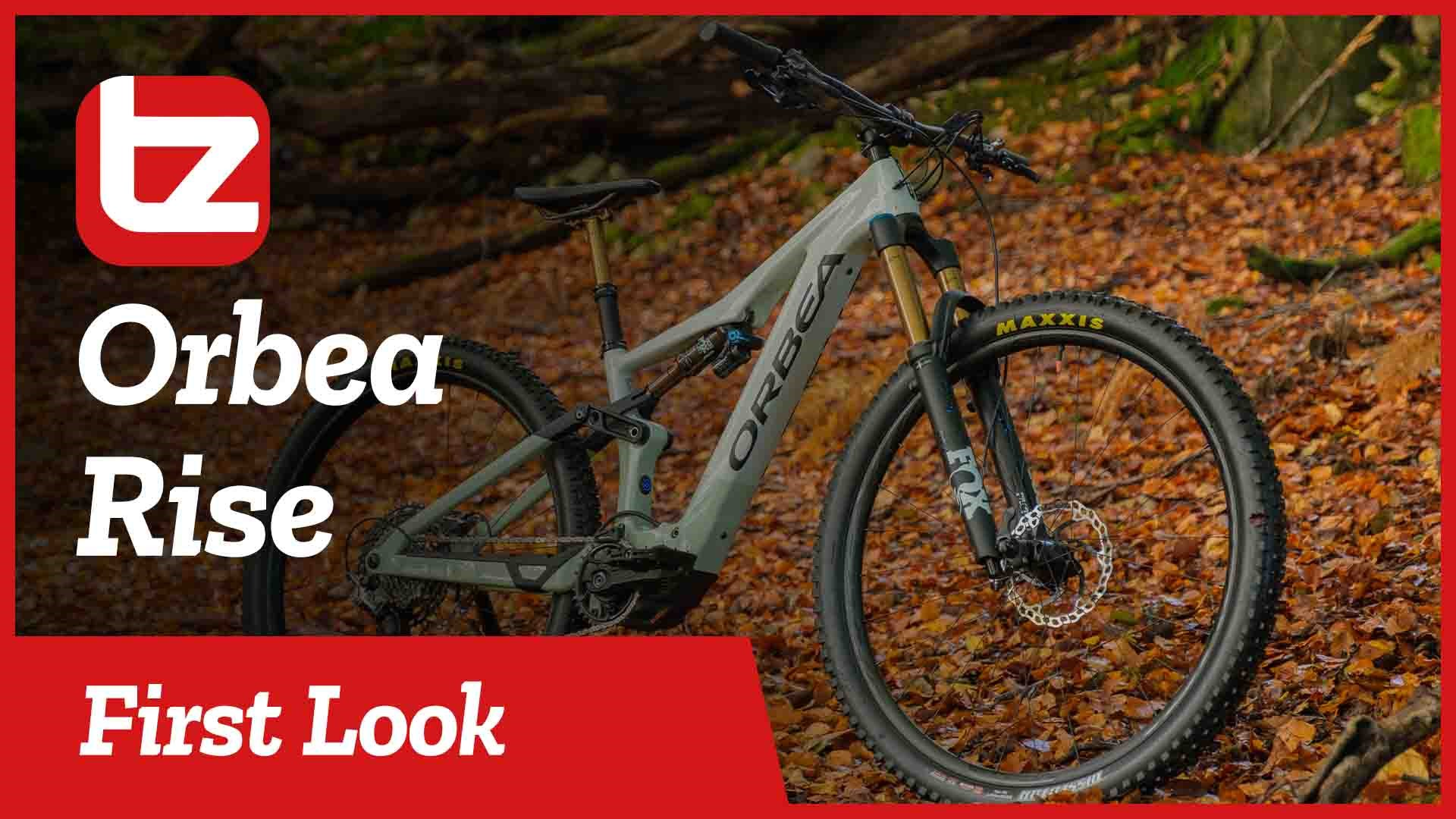 New Orbea Rise | The Most Exciting New Ebike of 2020? | First Look | Tredz Bikes