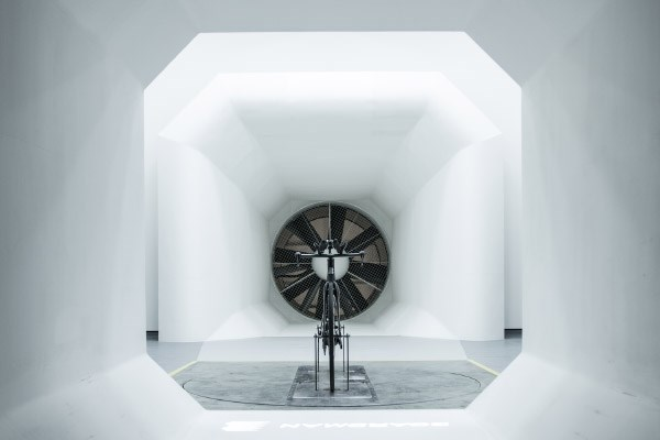 The wind tunnel at Boardman Performance Centre