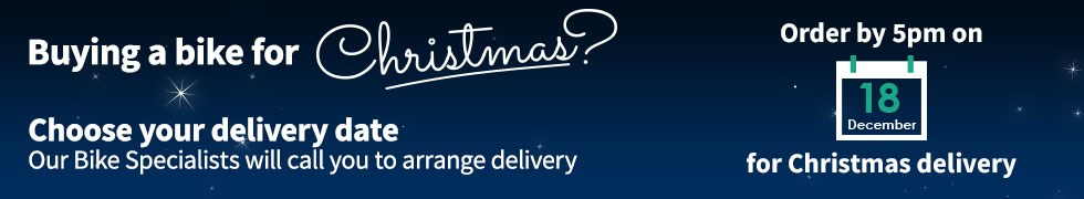 Buying a bike for Cristmas? Choose your delivery