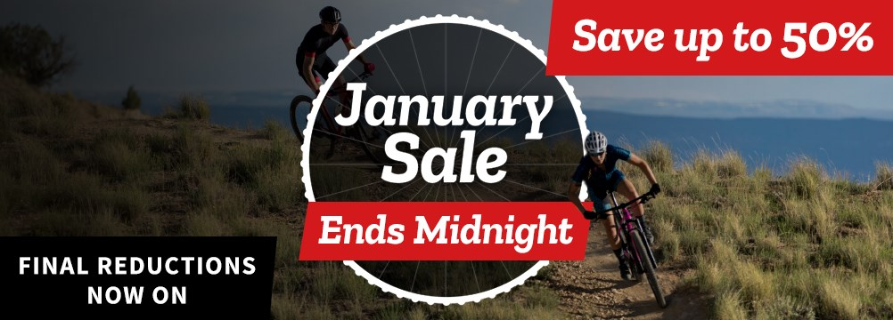 January Sale - Ends Midnight