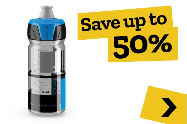 Mid-season Clearance - Bottles & Cages - Save up to 50%