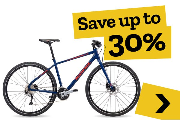 Mid-season Clearance - Hybrid Bikes - Save up to 30%