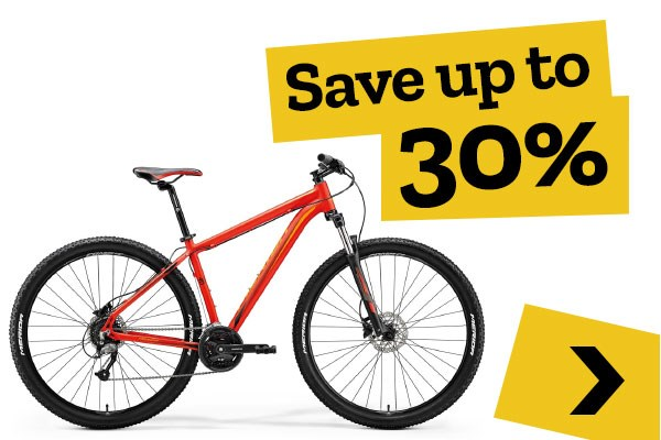 Mid-season Clearance - Mountain Bikes - Save up to 30%