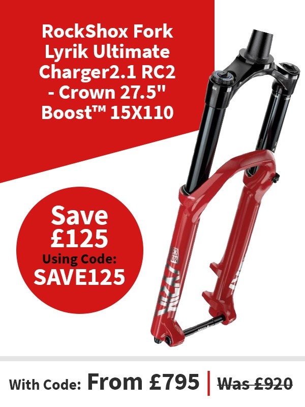 "RockShox Fork Lyrik Ultimate Charger2.1 RC2 - Crown 27.5"" Boost™ 15X110"