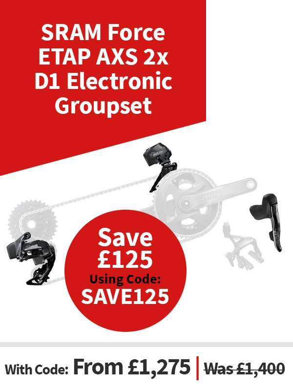 SRAM Force ETAP AXS 2x D1 Electronic Groupset