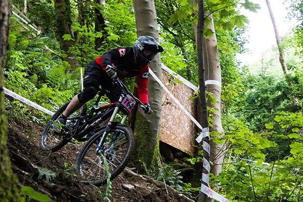 Team Tredz rider Lindsay takes on round 4 of the BDS in Llangollen
