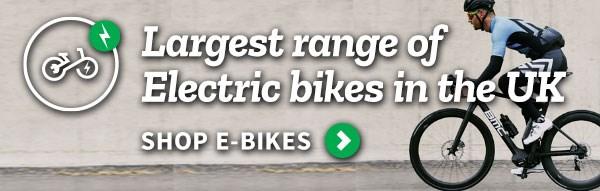 Largest range of Electric Bikes - Shop Ebikes >