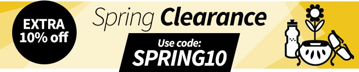 An Extra 10% off in our Spring Sale
