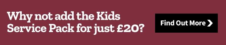 Tredz Kids service pack