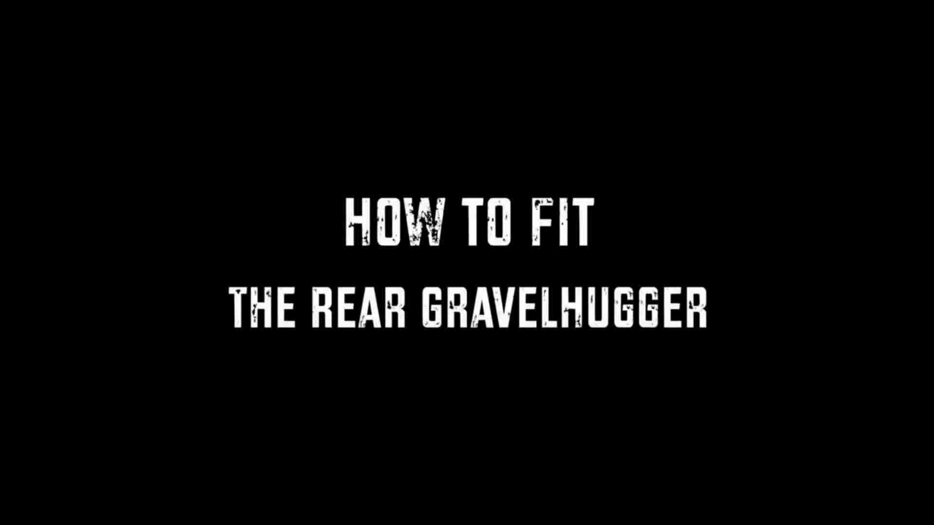 How to fit a Mudhugger Rear Gravelhugger