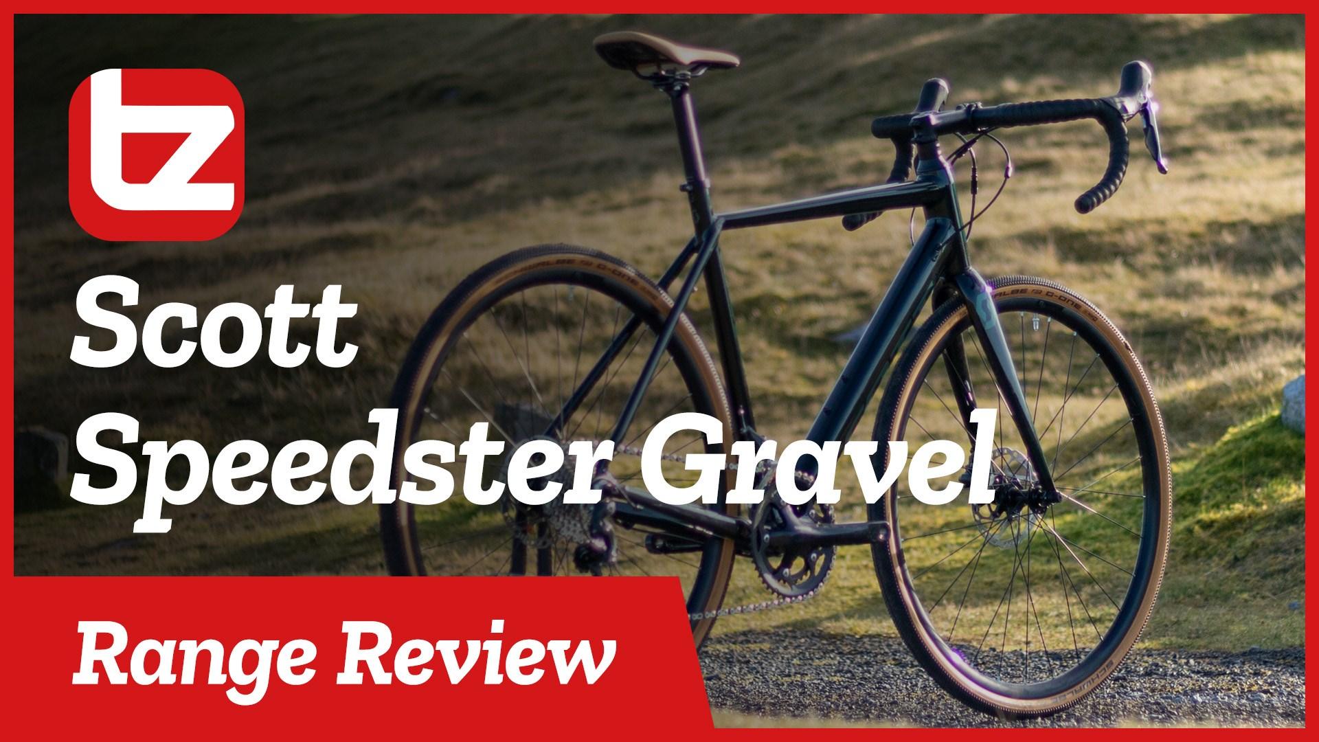 Scott Speedster Gravel | Range Review | Tredz Bikes