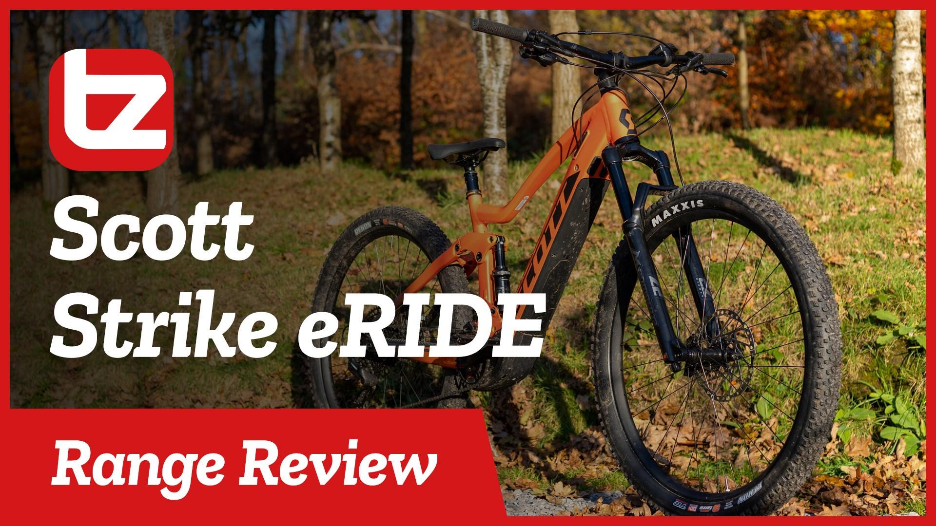 Scott Strike eRide   Range Review   Tredz Bikes