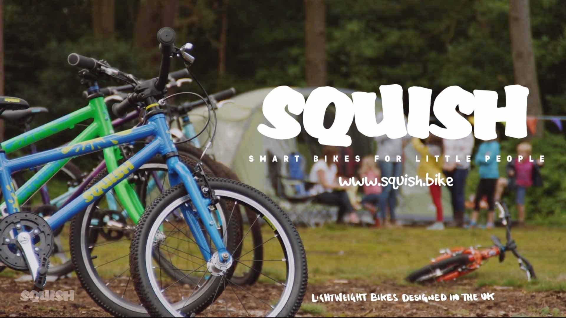 Squish Lightweight kids bikes!