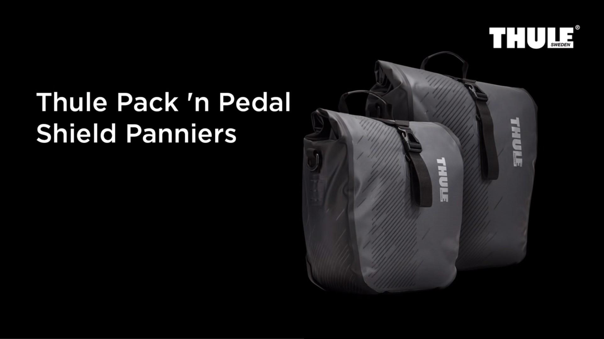 Bike Bags - Thule Pack 'n Pedal Shield Panniers