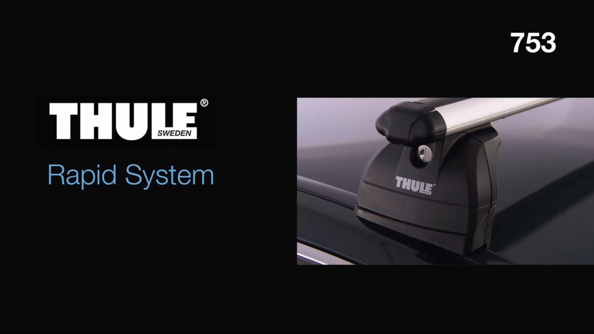 Roof Racks - Thule Rapid System 753, kit 183
