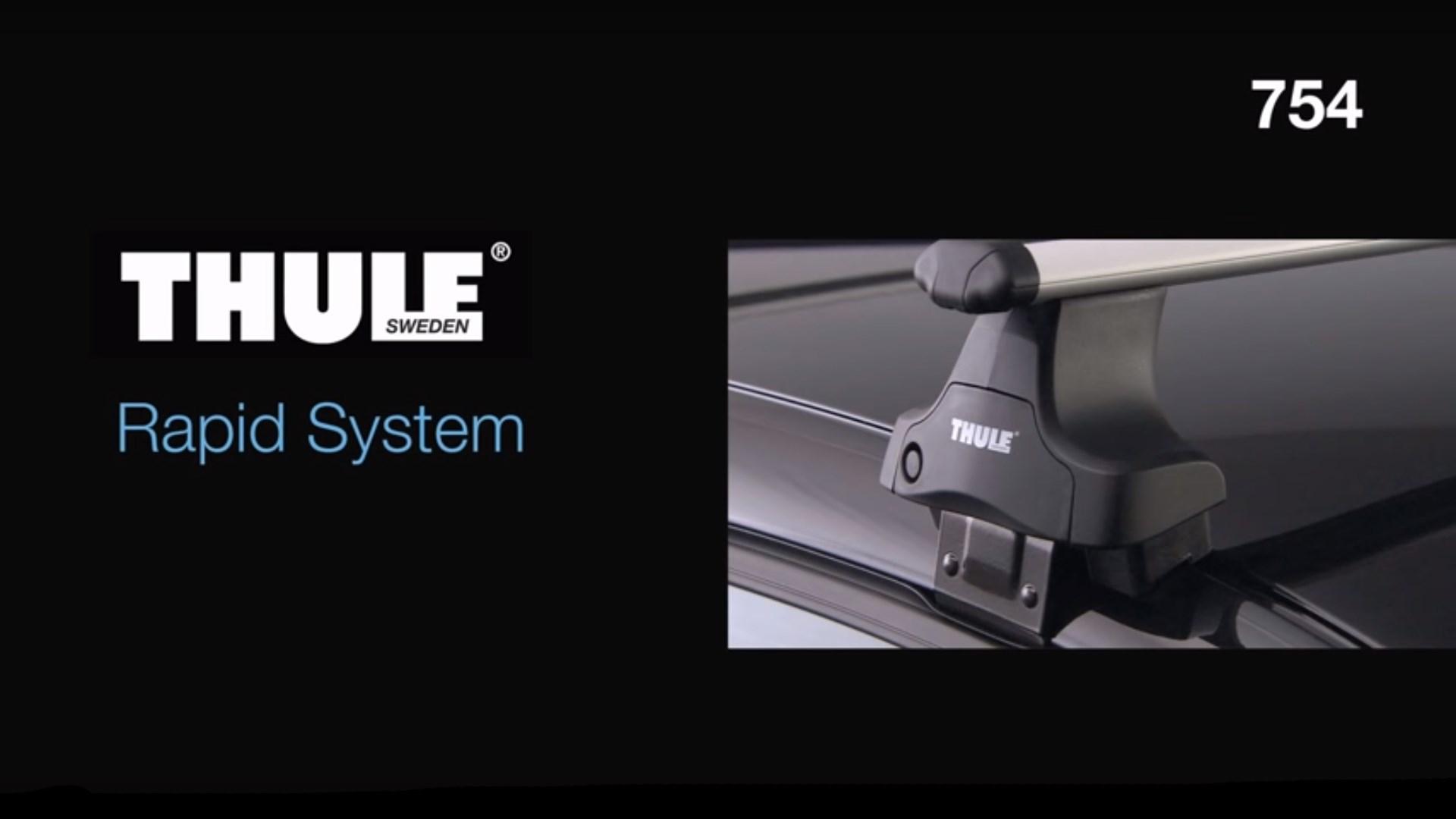 Roof Racks - Thule Rapid System 754