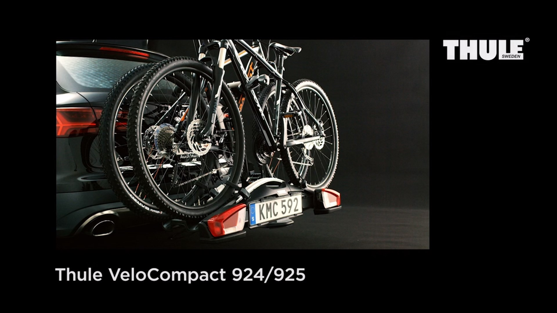 Towbar Bike Rack - Thule VeloCompact 924/925