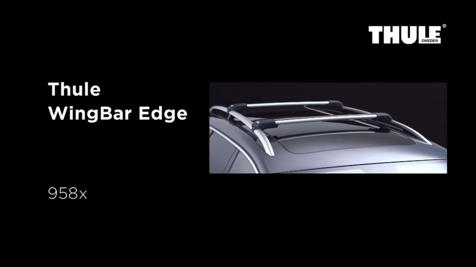 Roof Racks - Thule WingBar Edge 958x
