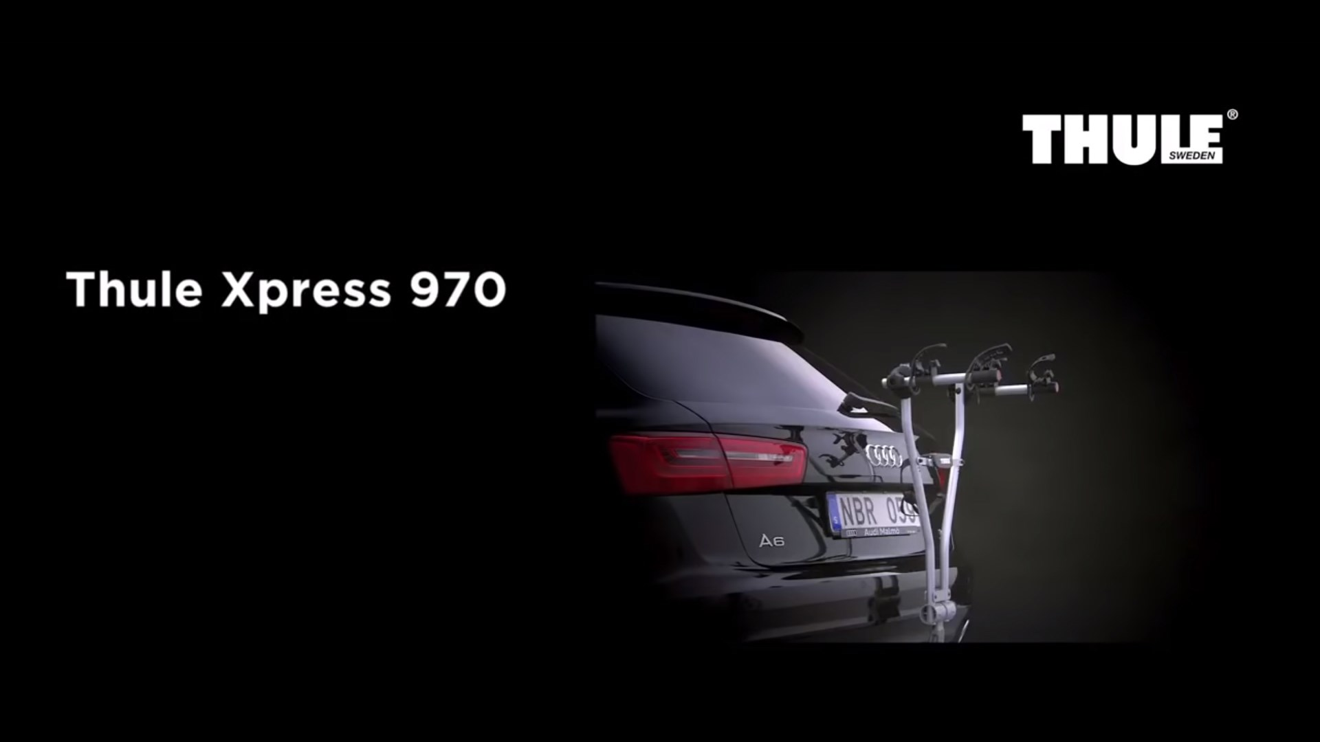 Bike Carrier Towbar - Thule Xpress