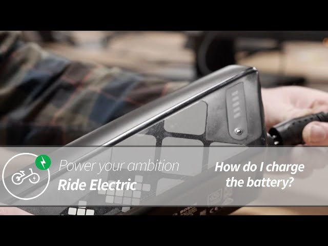 How Do You Charge An Electric Bike? | Power Your Ambition | Ride Electric
