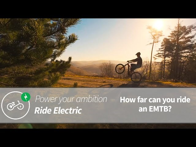 How Far Can You Ride An Electric Mountain Bike? | Power Your Ambition | Ride Electric | Afan W2