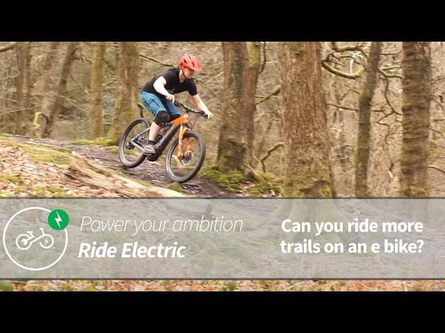 Ride More Trails | Power Your Ambition | Ride Electric