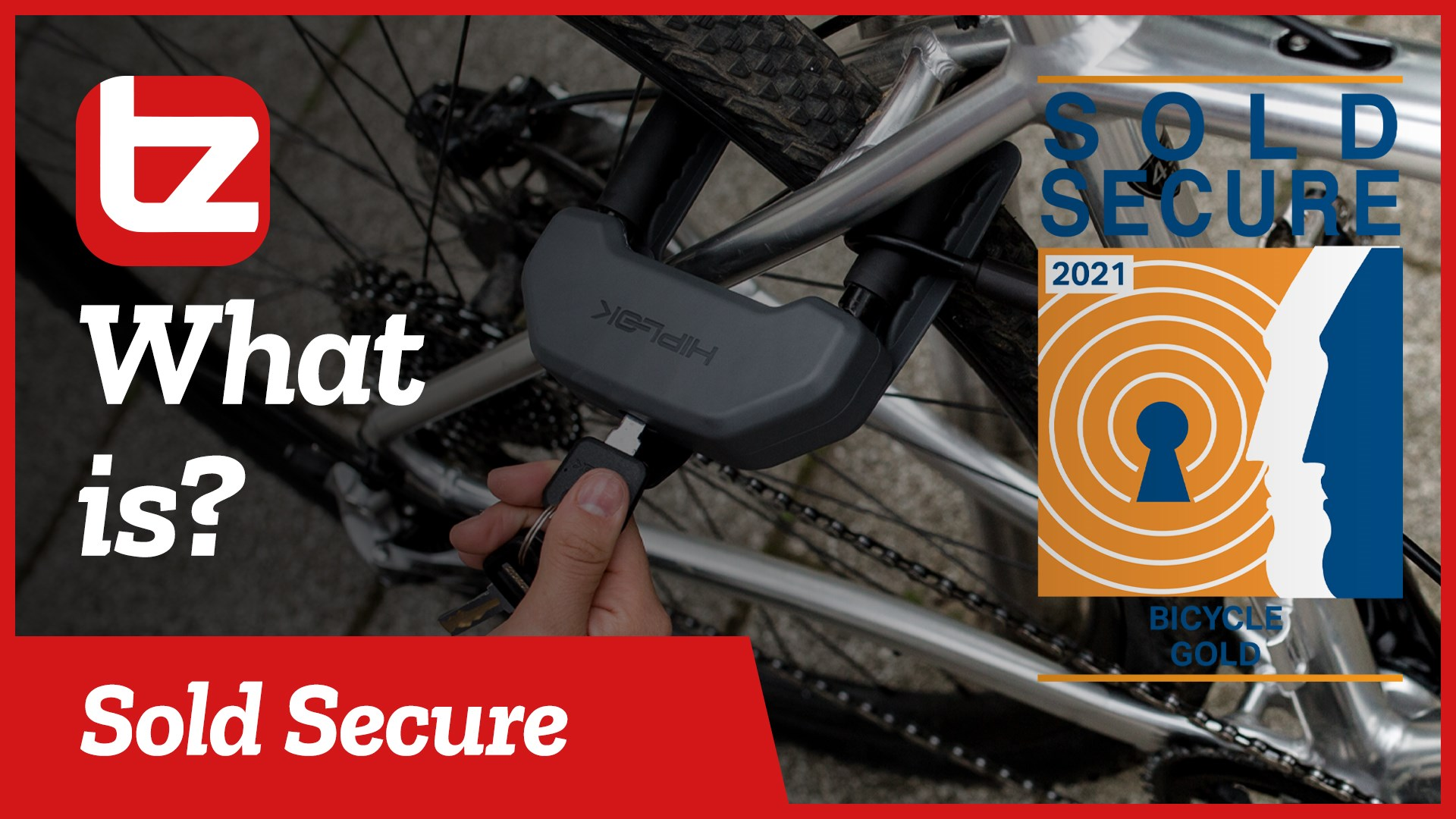 What Is a Sold Secure Lock? | Tredz Bikes