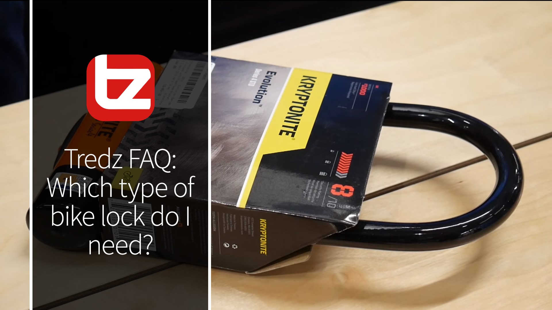 Tredz FAQ: Which type of bike lock do I need?