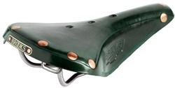 Brooks B17 Titanium Comfort Saddle Green