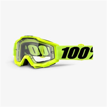 100% Accuri Enduro Clear Dual MTB Goggles