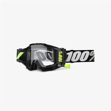 100% Accuri Forecast Mud Goggles with 45mm Film System | Beskyttelse