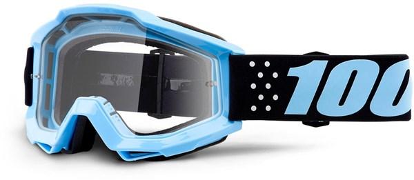 100% Accuri Youth Anti-Fog Clear Lens MTB Goggles | Beskyttelse