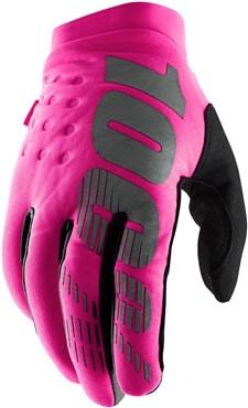 100% Brisker Cold Weather Womens Long Finger Gloves
