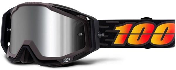 100% Racecraft Plus Injected Mirror Lens MTB Goggles | Beskyttelse