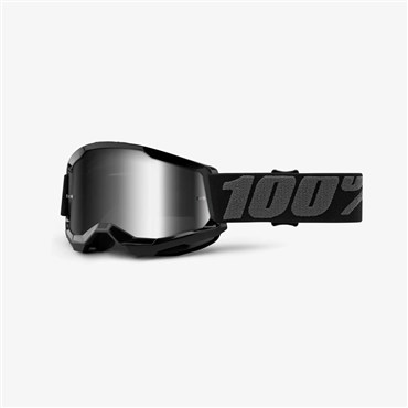 100% Strata 2 Youth Mirror Lens Goggles