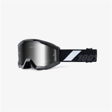 100% Strata JR Youth Anti-Fog Mirrored Lens MTB Goggles | Beskyttelse