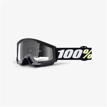 100% Strata Mini Anti-Fog Clear Lens MTB Goggles | Beskyttelse