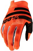 100% iTrack Youth Long Finger Gloves