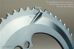 absoluteBLACK SRAM 110BCD 5 Bolt Spider Mount Aero Oval Ring (Premium)