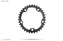 Product image for absoluteBLACK SRAM 110BCD 5 Bolt Spider Mount Oval Ring (Premium)