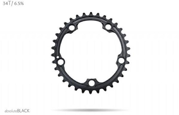 absoluteBLACK SRAM 110BCD 5 Bolt Spider Mount Oval Ring (Premium)