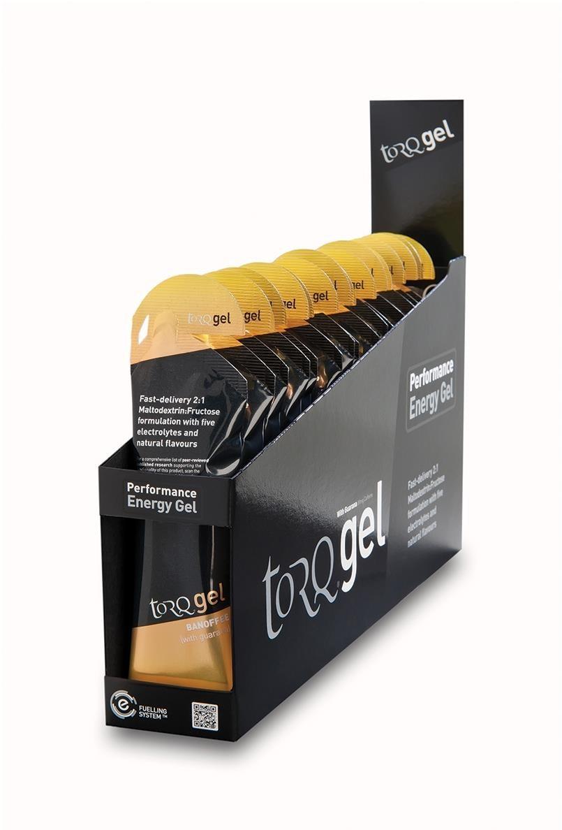 Torq Energy Gel With Guarana (Caffeinated) Box of 15 | Energy gels