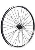 Product image for M Wheel Alloy 6 Bolt Disc / Rim Brake QR Axle Cassette 29er Rear Wheel